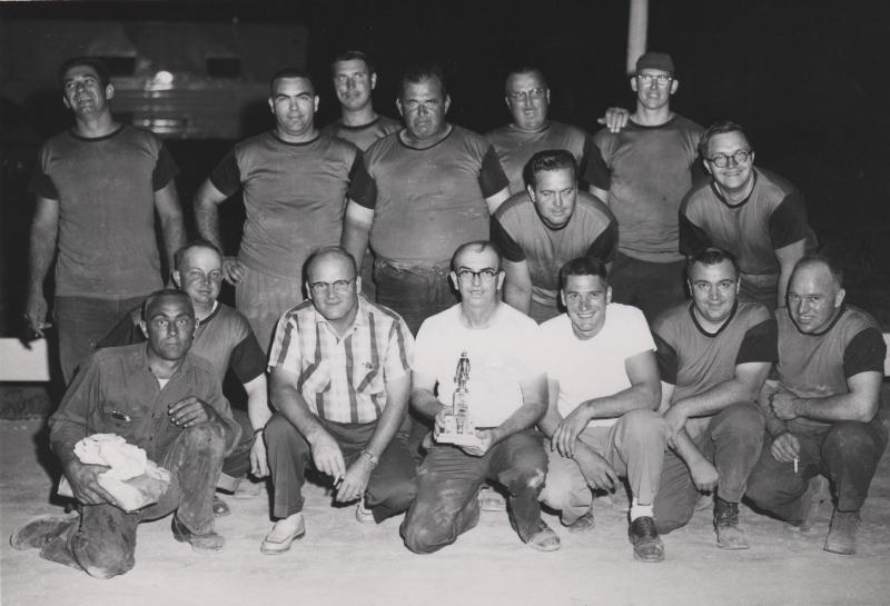 1956 & 1957 Tug of War Champs