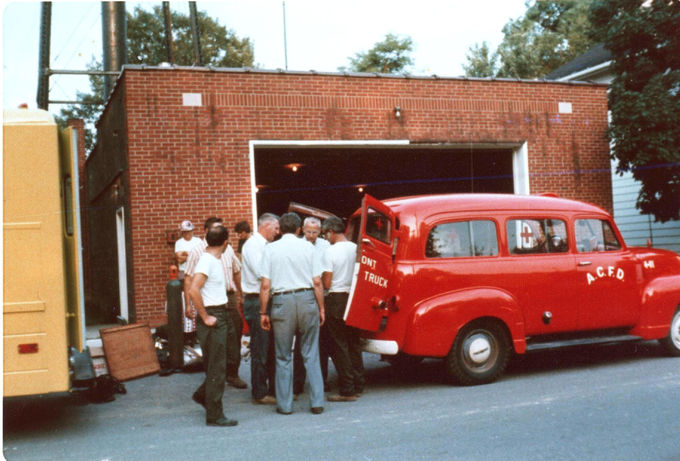 1974 Almont's New Rescue Truck